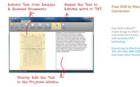 Best OCR to Word Software to Extract Text from Image to Save as Word